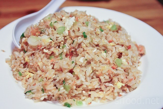 Crab Fried Rice at Himawari-Tei -- particularly flavorful