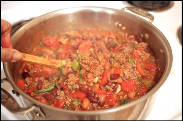 homemade beef chili recipe