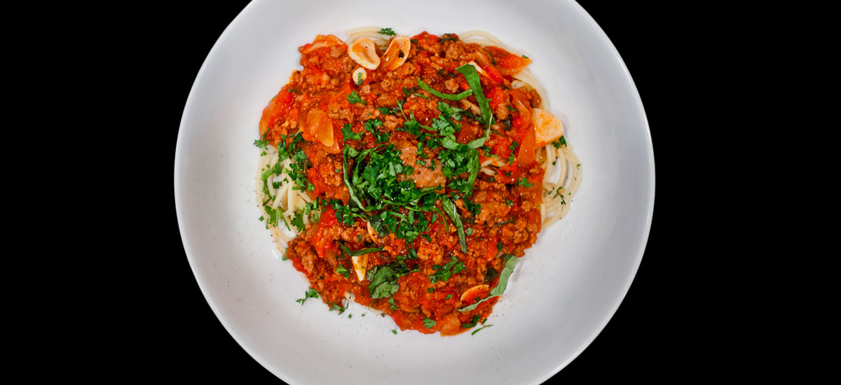 The Best Meat Sauce Spaghetti Recipe   SFFOOD
