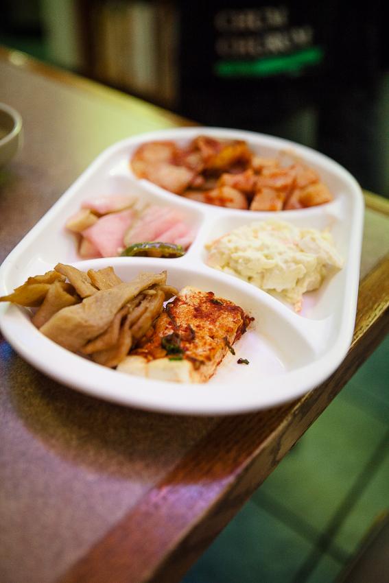Arang Korean Restaurant Banchan