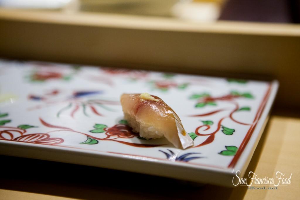 Hirame at Omakase Sushi