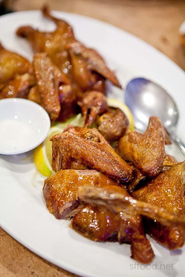 Riverside Seafood Restaurant Squab