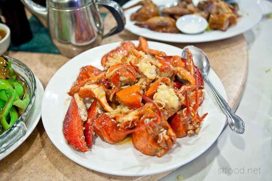 Riverside Seafood Restaurant Lobster